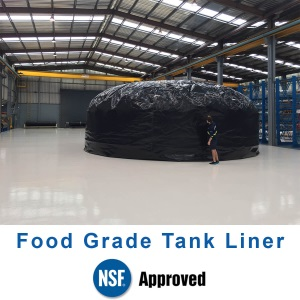 5000 Gallon Steel Rain Water Tank