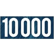 10000 Gallon Plastic Water & Liquid Storage Tanks