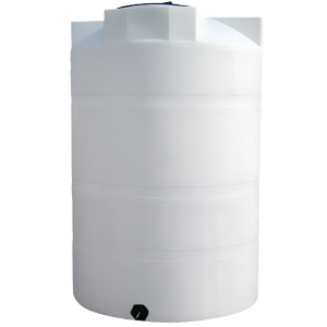 1025 Gallon Vertical Plastic Storage Tank