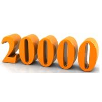 20000 Gallon Plastic Water & Liquid Storage Tanks