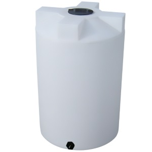 220 Gallon Vertical Plastic Storage Tank