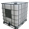 330 Gallon Caged Rebottled IBC Tote