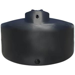 1550 Gal Black Plastic Water Storage Tank