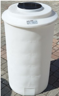 65 Gallon Plastic Water Storage Tank