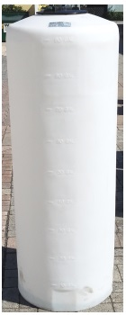 90 Gallon Vertical Plastic Storage Tank