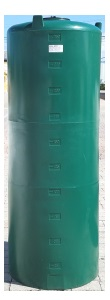 250 Gallon Plastic Water Storage Tank
