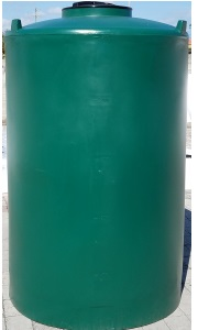 500 Gallon Plastic Heavy Duty Vertical Tank