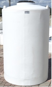 500 Gallon Duracast Vertical Plastic Storage Tank