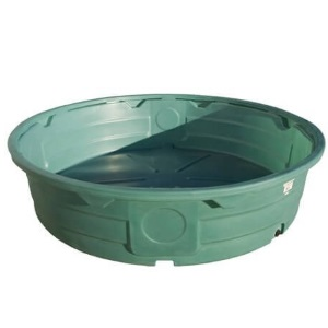 920 Gallon Green Poly Round Stock Tank