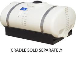 300 Gallon Elliptical Cradle Tank