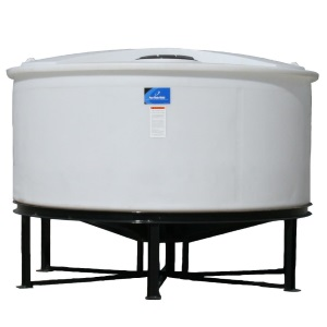 1450 Gallon Open Top Cone Bottom Tank w/ bolt-on top