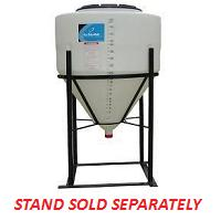 60 Gallon Cone Inductor Tank *Fully Draining*