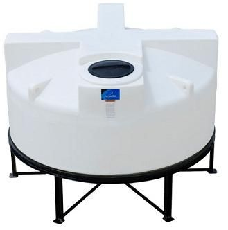 850 Gallon 15 degree Cone Bottom Tank