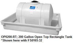 200 Gallon Spill Containment Tray