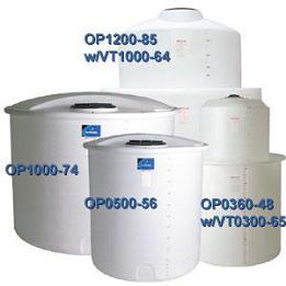 3300 Gallon PE Open Top Cylindrical Tank