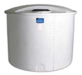 500 Gallon PE Open Top Cylindrical Tank