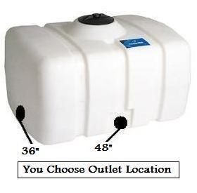 150 Gallon Portable Utility Tanks