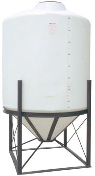1000 Gallon 45 Degree Cone Bottom Tank