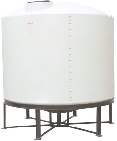 2500 Gallon 15 Degree Cone Bottom Tank