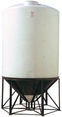 2600 Gallon 45 Degree Cone Bottom Tank