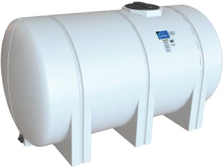 1300 Gallon Horizontal Leg Tank