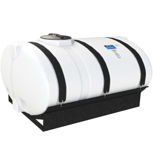 600 Gallon Elliptical Cradle Tank