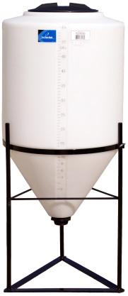 55 Gallon Cone Tank 58 Degree Cone