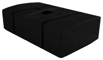 200 Gallon Black Portable Utility Tanks