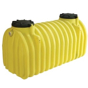 1250 Gallon Two Compartment Plastic Septic Tank