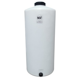 40 Gallon Plastic Water Storage Tank