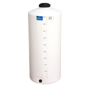 55 Gallon Vertical Plastic Storage Tank