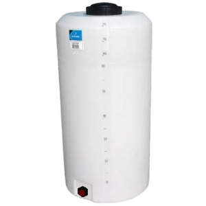 75 Gallon Plastic Water Storage Tank