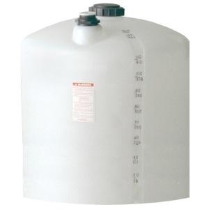 110 Gallon Vertical Plastic Storage Tank