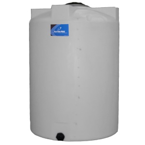 130 Gallon Vertical Plastic Storage Tank