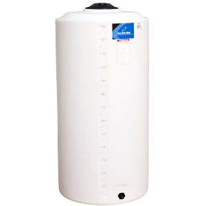 160 Gallon Vertical Plastic Storage Tank