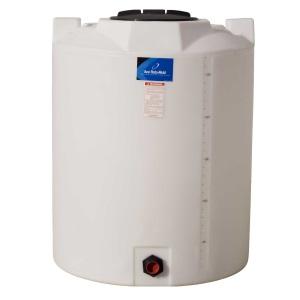 295 Gallon Vertical Plastic Storage Tank