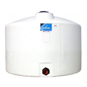 300 Gallon Vertical Plastic Storage Tank