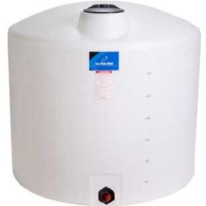 405 Gallon Vertical Plastic Storage Tank
