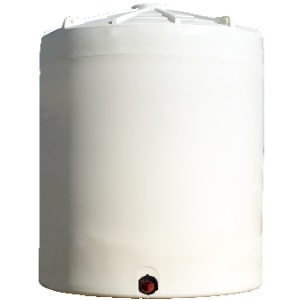10500 Gallon Vertical Plastic Storage Tank
