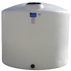 3100 Gallon Vertical Plastic Storage Tank