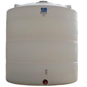 9000 Gallon Vertical Plastic Storage Tank