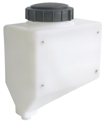 3 Gallon Cone Bottom Specialty Rinse Tank