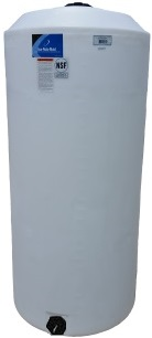 300 Gallon Vertical Plastic Storage Tank