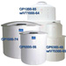 1350 Gallon PE Open Top Cylindrical Tank