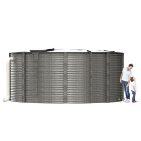 12000 Gallon Steel Water Tank