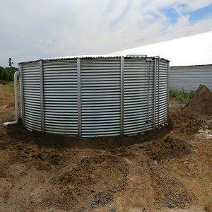 50000 Gallon Steel Rain Water Tank