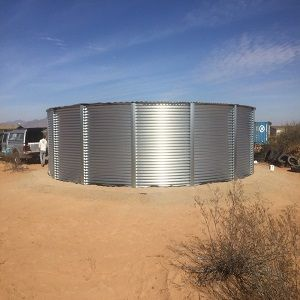50000 Gallon Steel Water Tank
