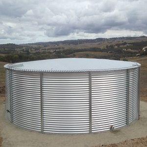 77000 Gallon Steel Rain Water Tank