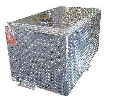 DOT 98 gallon double wall rectangle refueling tank