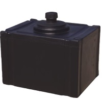 12 Gallon Cross Link Plastic Fuel Tank - With Fitting